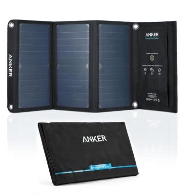 Anker PowerPort 21W USB Solar Charger
