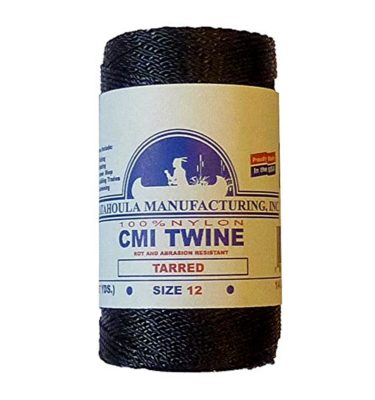 Bank Line - Tarred Twisted Nylon Twine