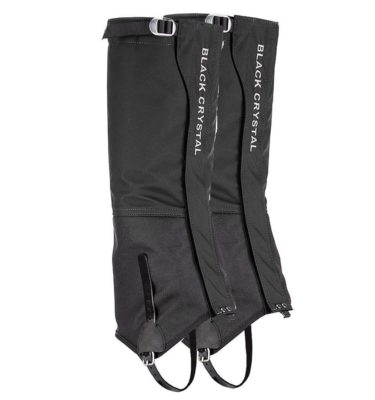 Black Crystal Leg Gaiters