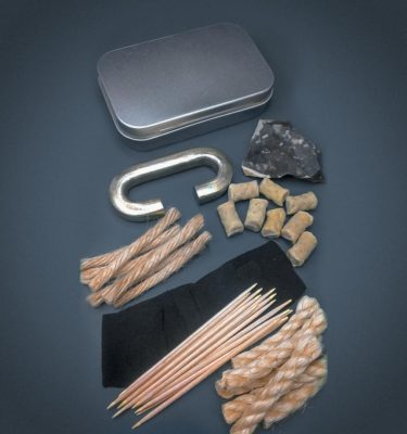 Flint & Steel Deluxe Fire Starting Kit