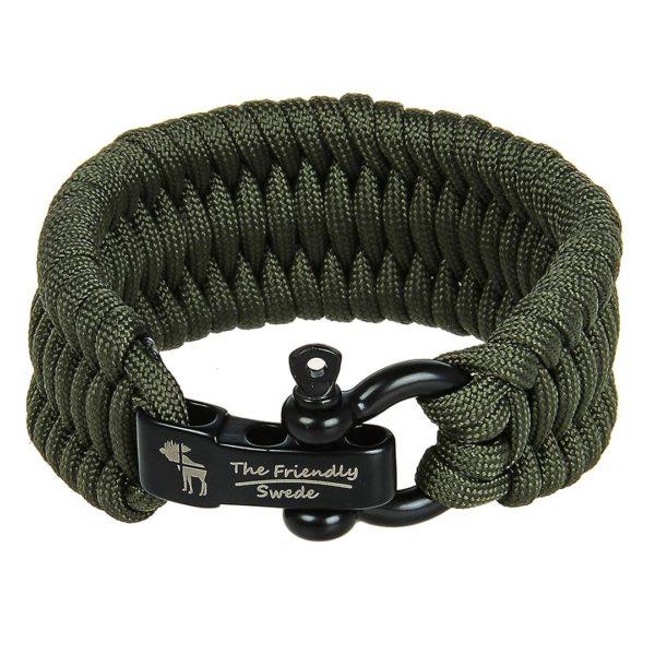 Friendly Swede Trilobite Paracord Survival Bracelet