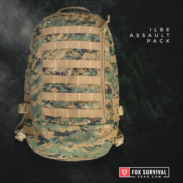 ILBE Assault Pack front view