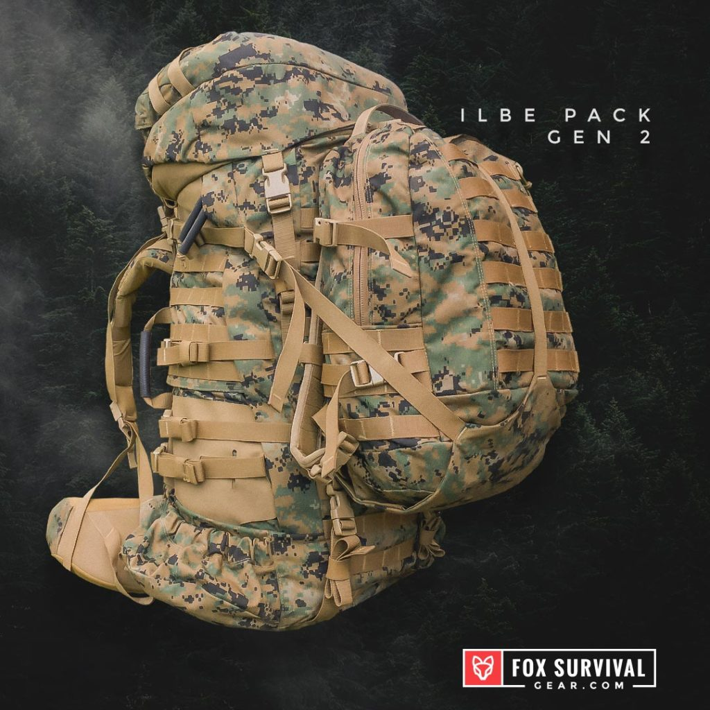 ILBE Pack - Gen 2 USMC Tactical Backpack