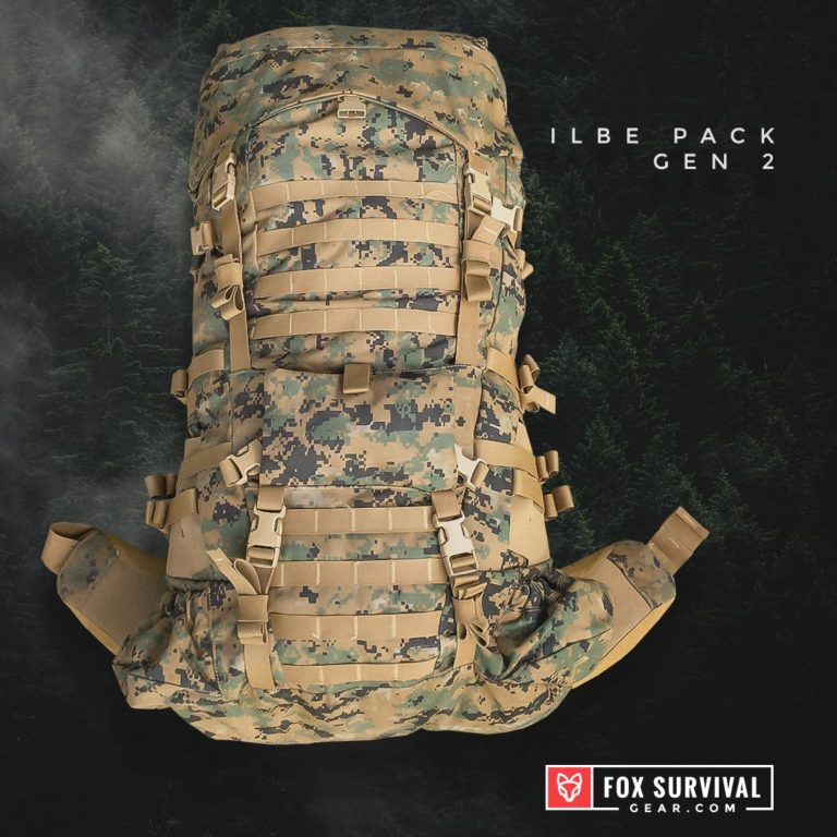 Front of ILBE Pack - Gen 2 USMC Tactical Backpack