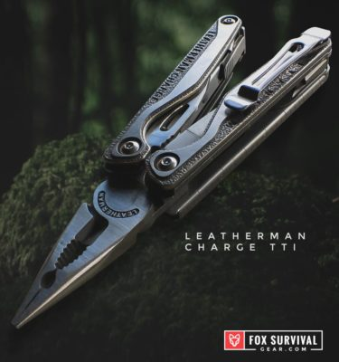 Leatherman Charge TTI Multi-Tool pliers