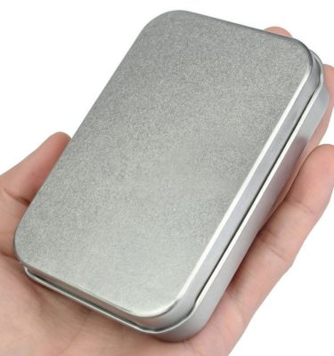 Steel Hinged Tin